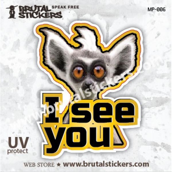 Animals Sticker MP-006