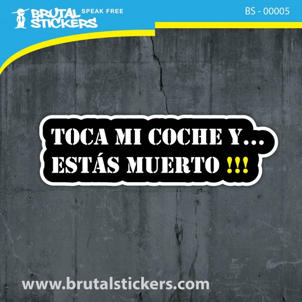 Crazy Sticker BS - 00005
