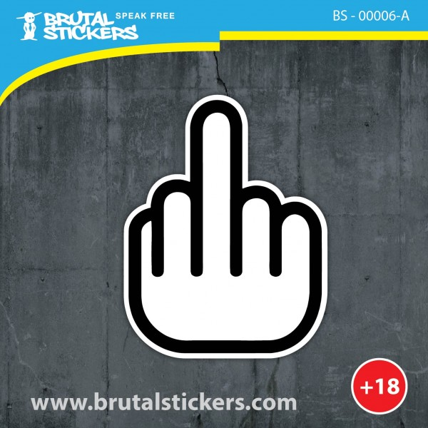 Crazy Sticker BS - 00006
