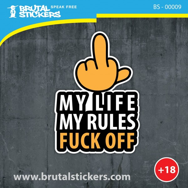 Crazy Sticker BS - 00009