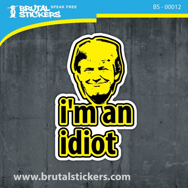 Crazy Sticker BS - 000102