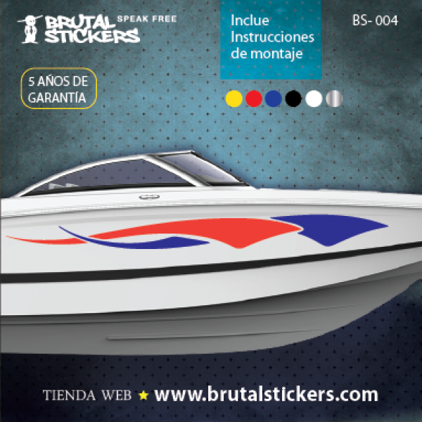 Boat stickers BS-004