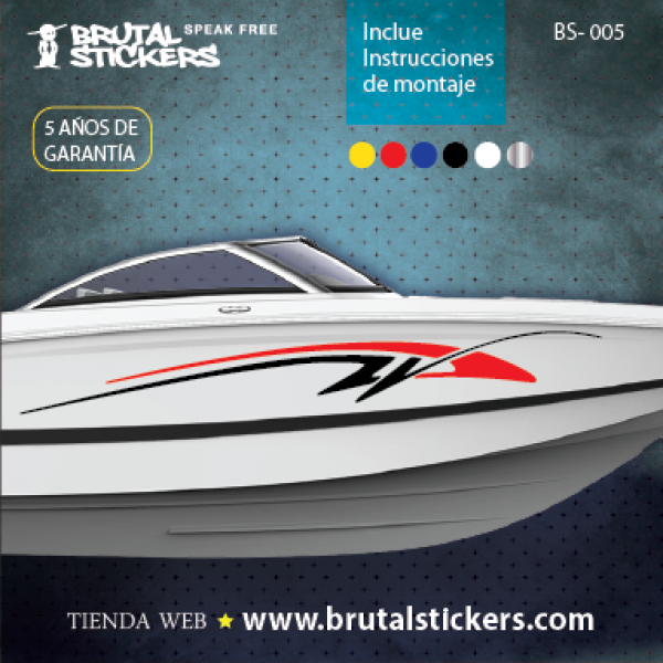 Boat stickers BS-005