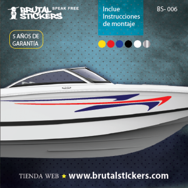 Boat stickers BS-006