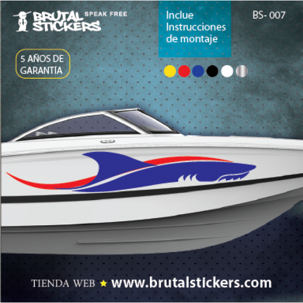 Boat stickers BS-007