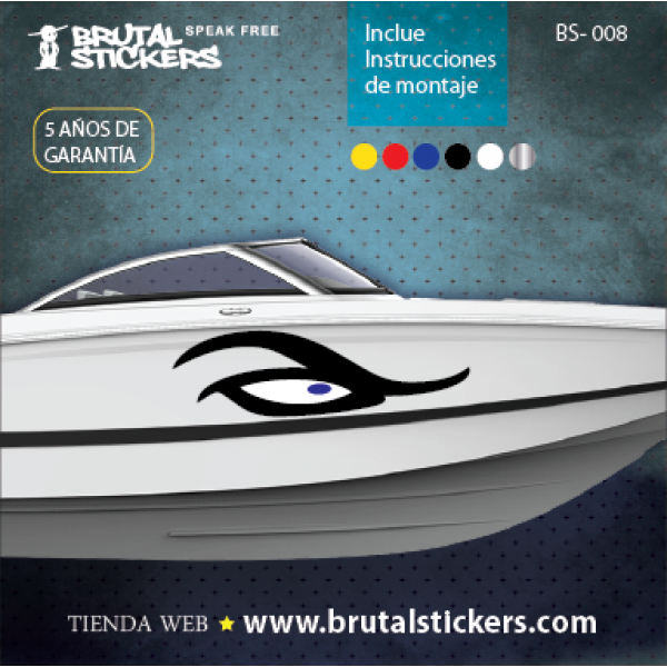 Boat stickers BS-008