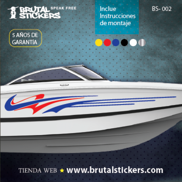 Boat stickers BS-002