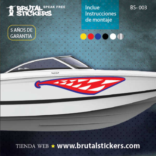 Boat stickers BS-003