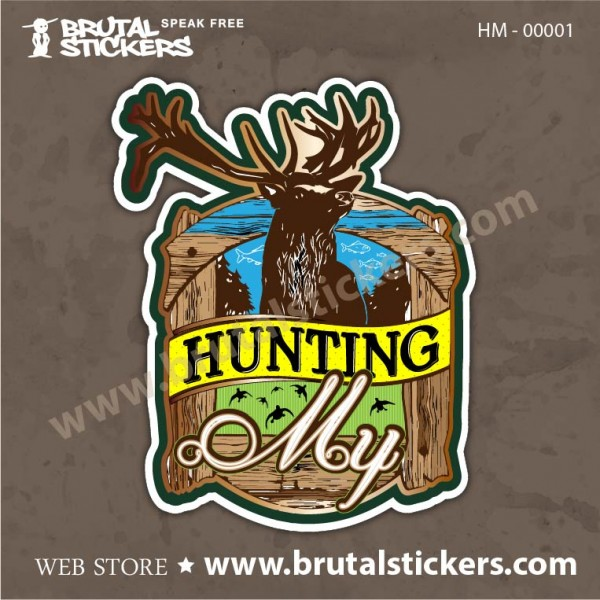 Hunt Sticker My Hunting HM-00001