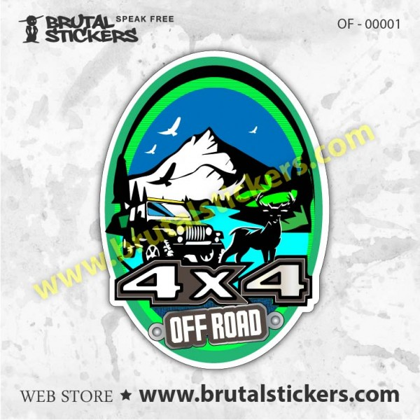 Sticker  Off Road OFF - 00001