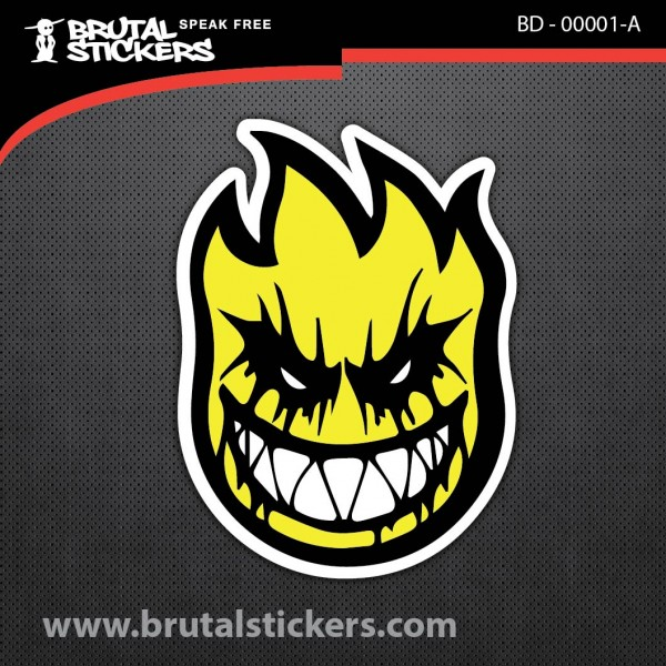 Skate Sticker BD - 00001