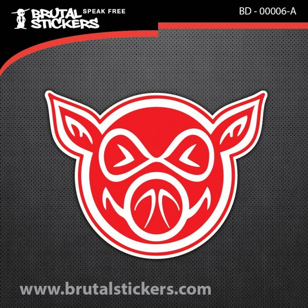 Skate Sticker BD - 00006