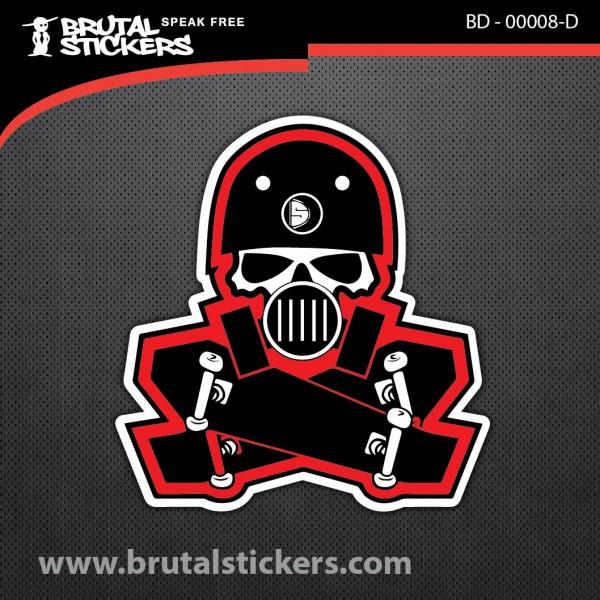 Skate Sticker BD - 00008