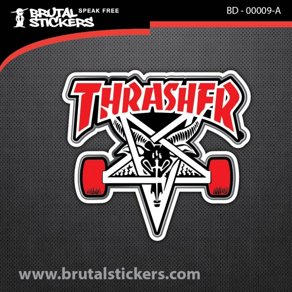 Skate Sticker BD - 00009