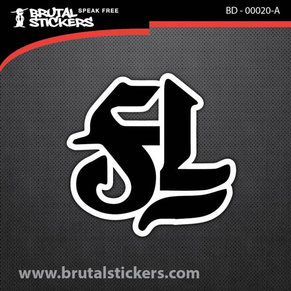 Skate stickers BD - 00020