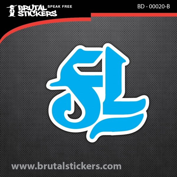 Skate stickers BD - 00020