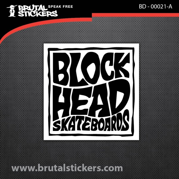 Skate stickers BD - 00021
