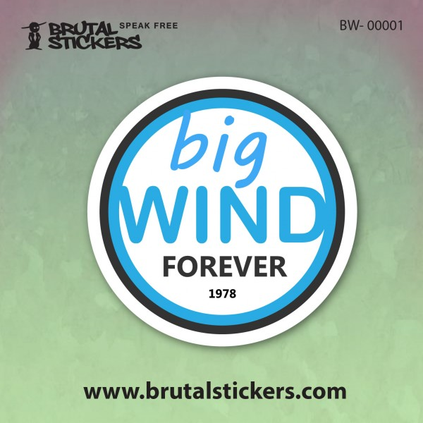 Surf Sticker BW-00001