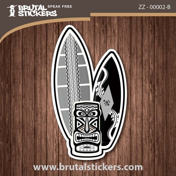 Surf Sticker ZZ - 00002