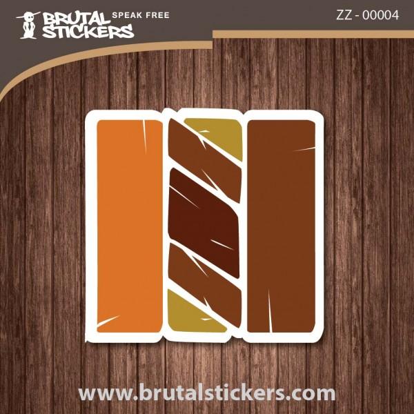 Surf Sticker ZZ - 00004