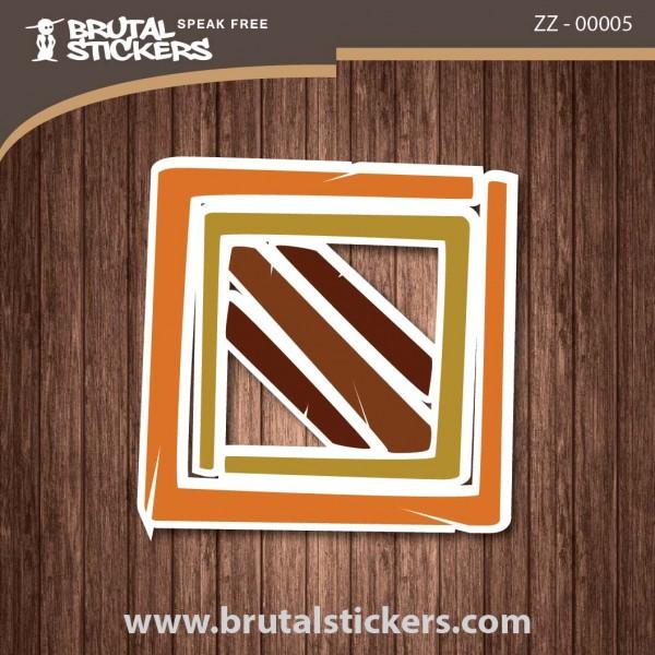 Surf Sticker ZZ - 00005
