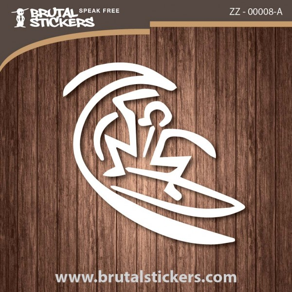 Surf Sticker ZZ - 00008