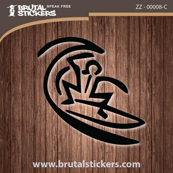 Surf Sticker ZZ - 00008