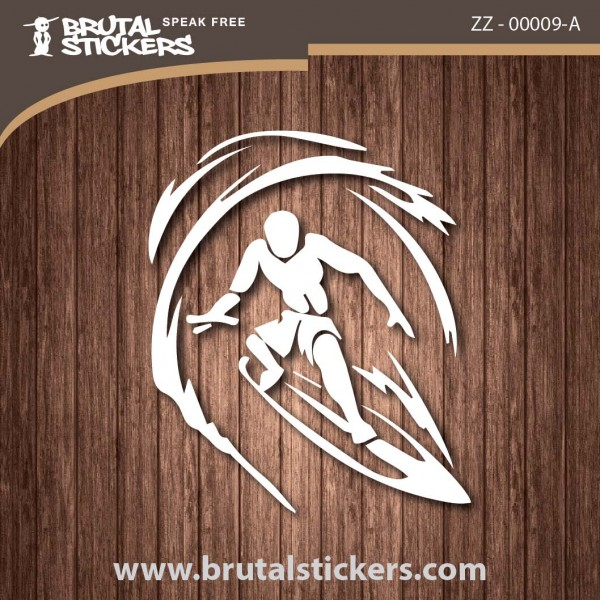 Surf Sticker ZZ - 00009