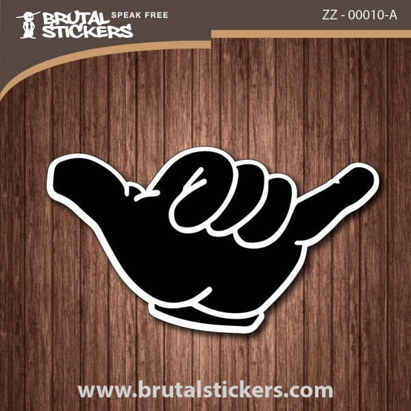 Surf Sticker ZZ - 00010