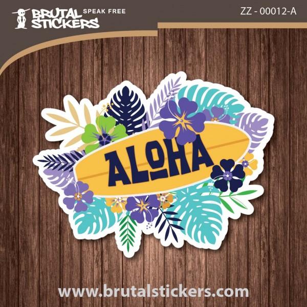 Surf Sticker  ZZ - 00012