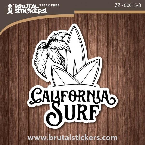 Surf California Sticker  ZZ - 00015