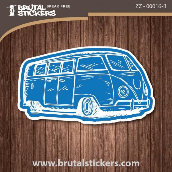 Surf Caravana Sticker ZZ - 00016