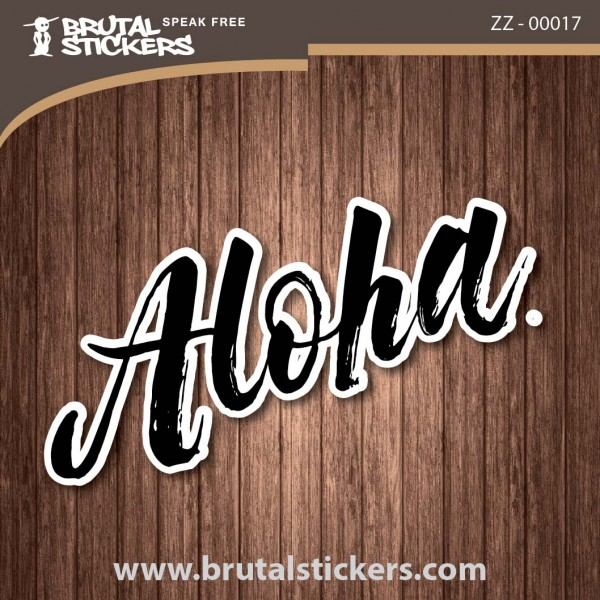 Surf Sticker ZZ - 00017