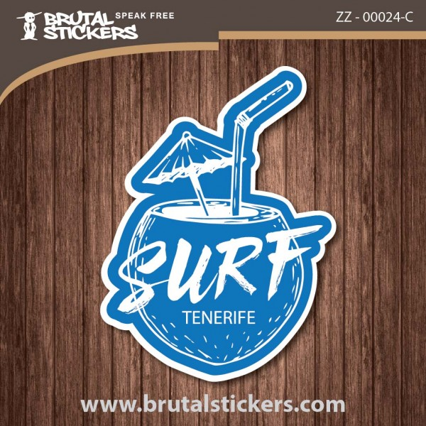 Surf Sticker ZZ - 00024