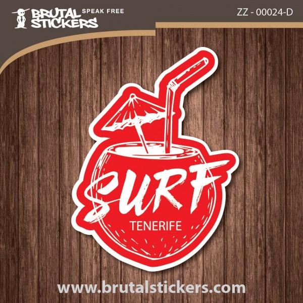 Surf Sticker ZZ - 00024