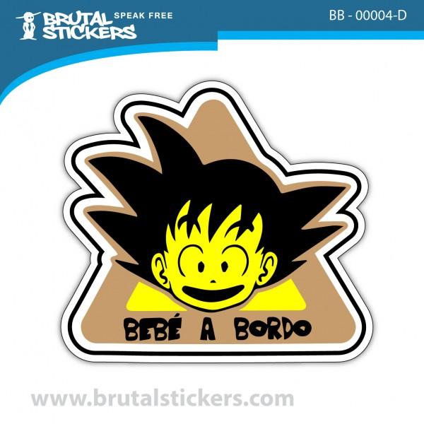 Sticker Baby on Board BB-00004