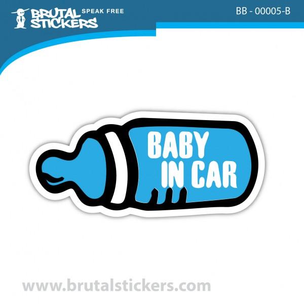 Sticker Baby on Board BB-00005