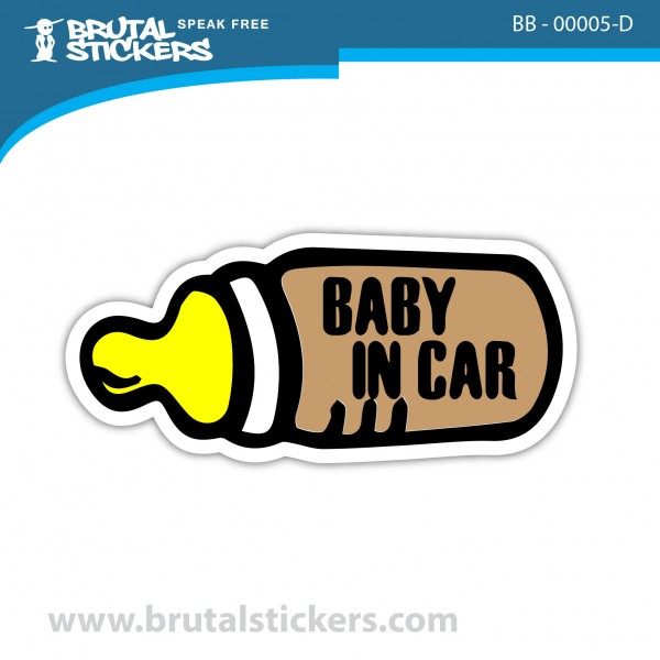 Sticker Baby on Board BB-00005