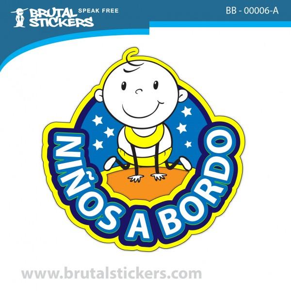 Stcker Baby on Board BB-00006
