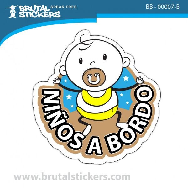 Sticker Baby on Board BB-00007