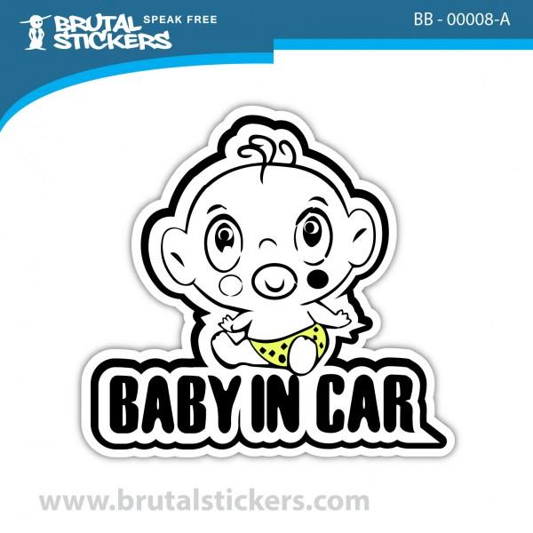 Custom Sticker Baby on Board BB-00008