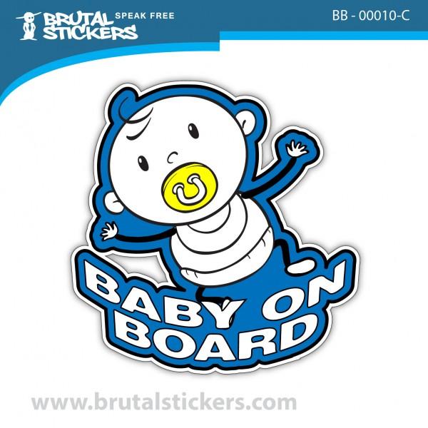 Custom Sticker Baby on Board BB-00010