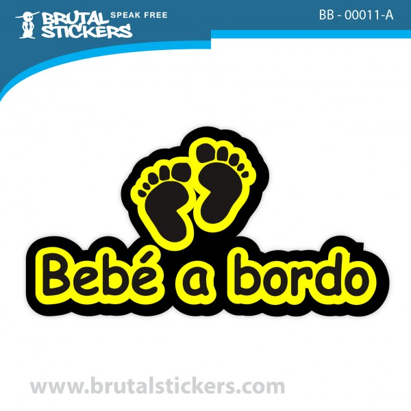 Custom Sticker Baby on Board BB-00010