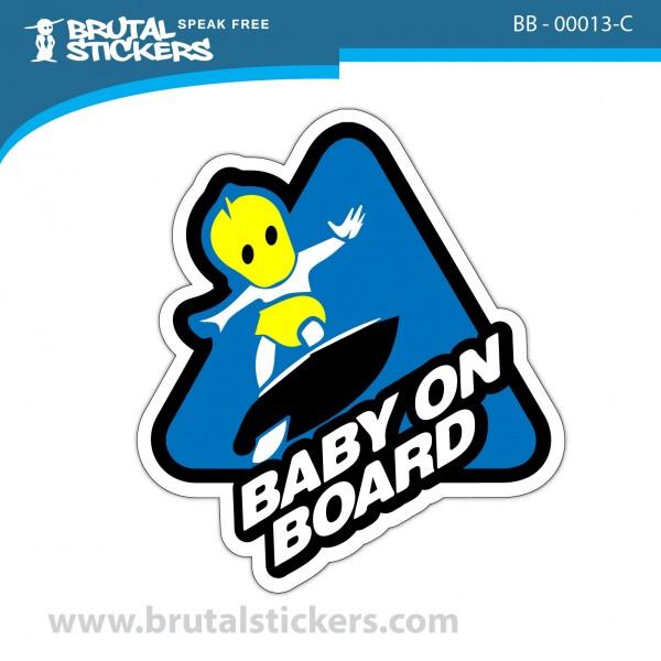 Sticker Baby on Board BB-00013