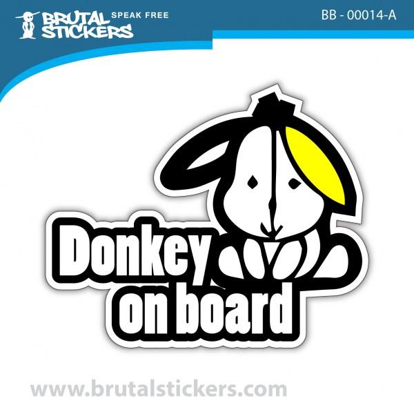Sticker Baby on Board BB-00014