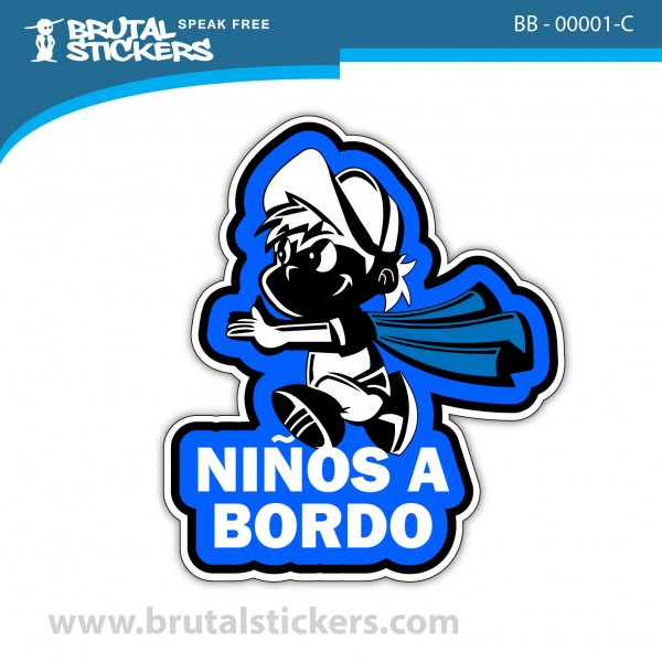 Baby on Board Sticker BB-00001