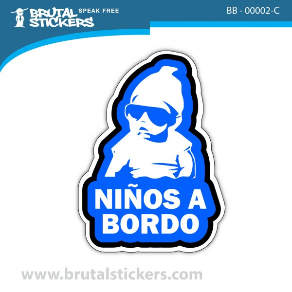 Sticker Baby on Board BB-00002