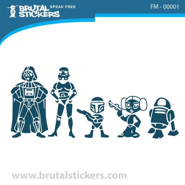 Family stickers FM-00001