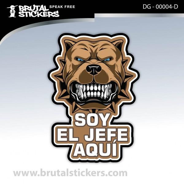 Sticker Dog on board DG - 00004