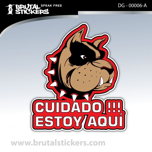 Sticker Dog on board DG - 00006